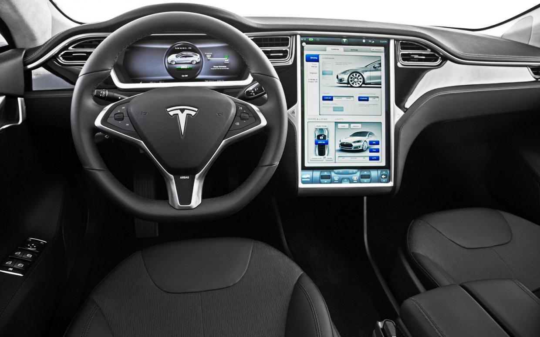 Электромобиль Tesla Model S2