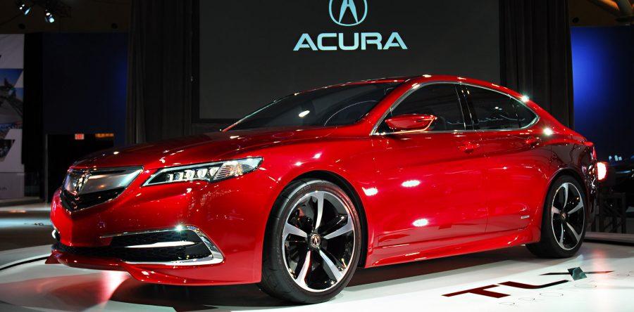 Описание автомобиля Acura TLX