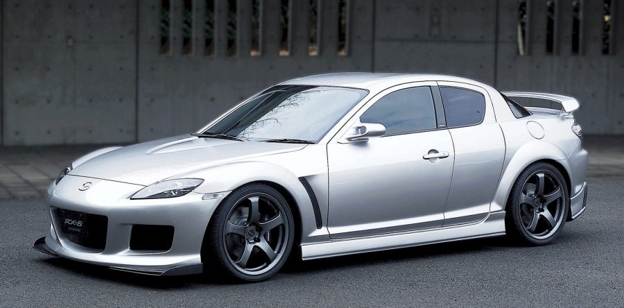 Mazda RX-8 – автомобиль-мечта для многих людей