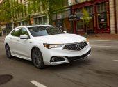 В продажу поступил обновленный седан Acura TLX